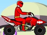 Power Ranger Dino Red ATV