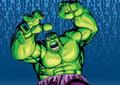Hulk wit  Friends