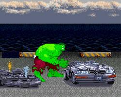 Hulk Car Demolition