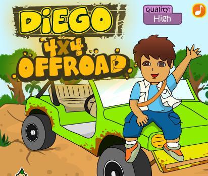 Diego 4x4 offroad