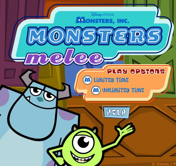 Monsters Inc: Monsters Melee