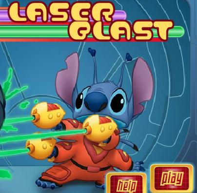 Stitch's Laser Blast