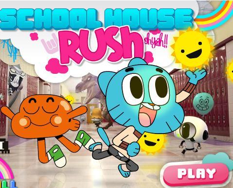 Gumball School House Rush