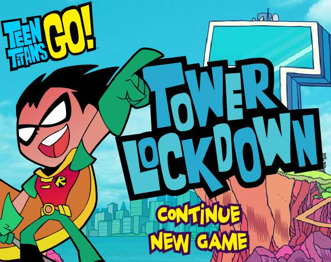 Teen Titans Go Tower Lockdown