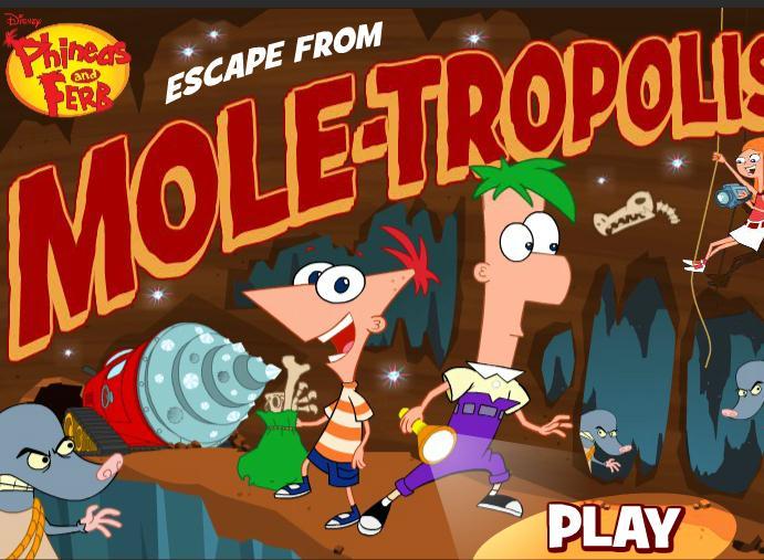 Escape From Moletropolis
