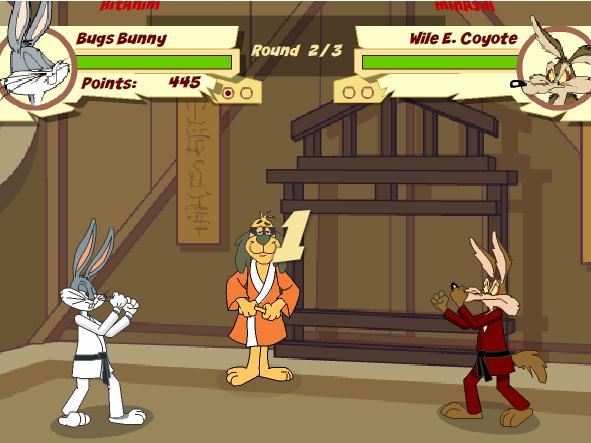 Bugs Bunny Karate Challenge