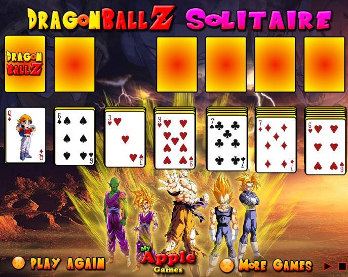 Dragon Ball Z Solitaire