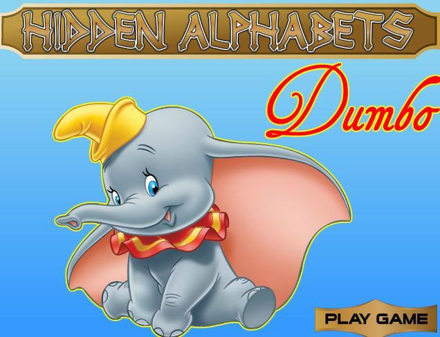 Hidden Alphabets Dumbo
