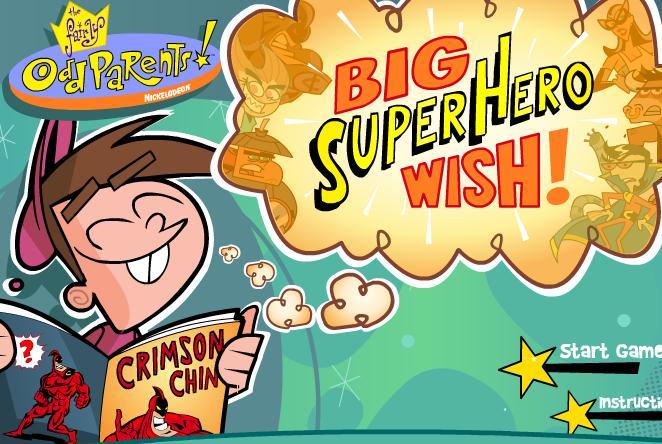Big Super Hero Wish