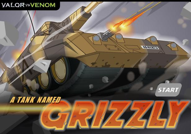 GI Joe A Tank Named Grizzly