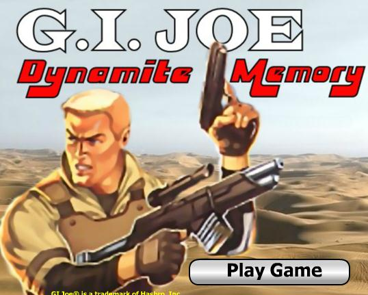 GI Joe Dynamite Memory