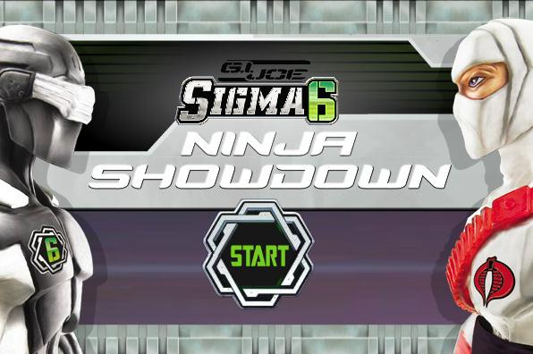 GI Joe Sigma 6 Ninja Showdown