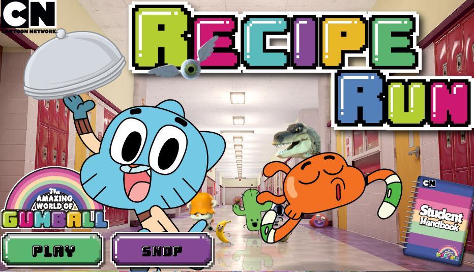 Gumball Recipe Run