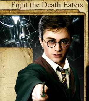 Harry Potter Fight Dead Eaters