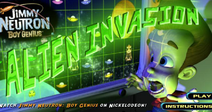 Jimmy Neutron Alien Invasion