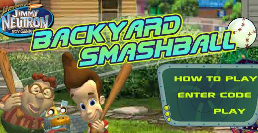 Jimmy Neutron Backyard Smashball