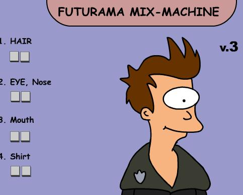 Futurama Mix Machine