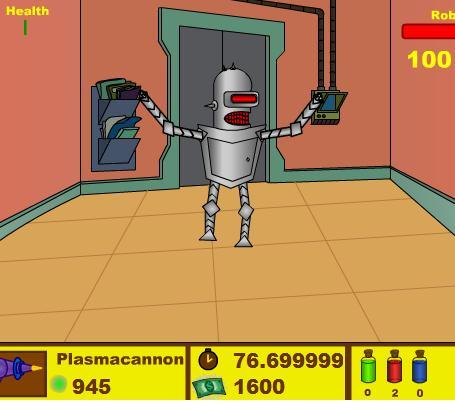 Futurama Rise of The Robots