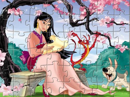Princess Mulan Jigsaw