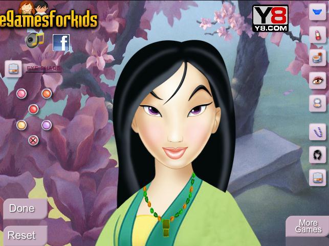 Princess Mulan Makeup