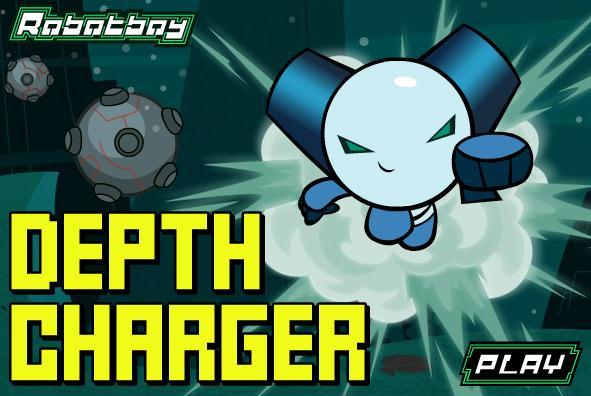 Robot Boy Depth Charger