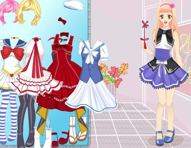 Pretty Sailor Dress Up