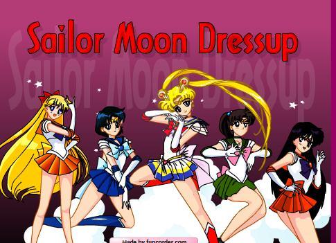Sailor Moon Dress Up