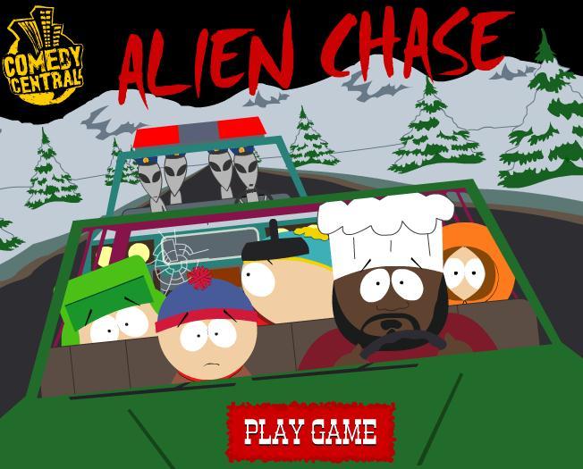 South Park Alien Chase