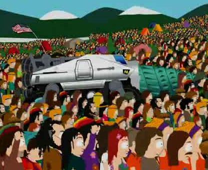 South Park Hippie Drill