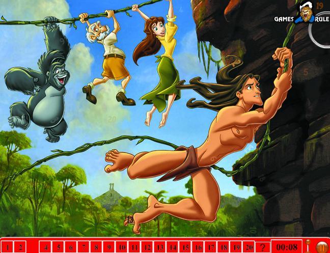 Tarzan Hidde Numbers