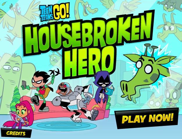 Teen Titans Housebroken Hero