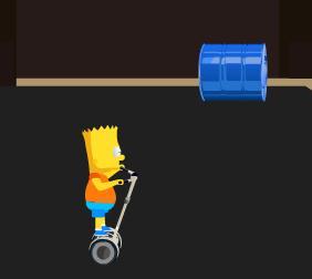 Bart Simpson Segway