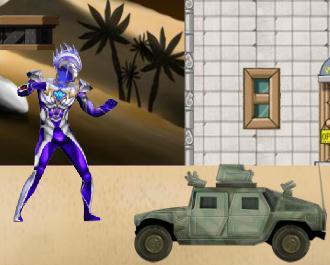 Ultraman vs Robot