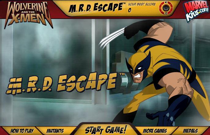 X-Men Wolverine Mrd Escape