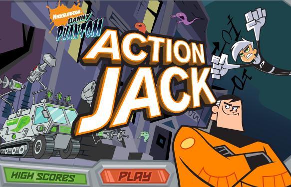 Danny Phantom Action Jack