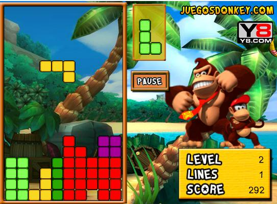 Donkey Kong Tetris