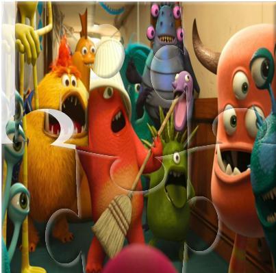 Monsters University - Jigsaw Puzzle