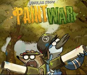 Regular Show: Paint War