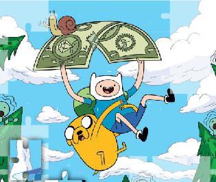 Adventure Time Puzzle