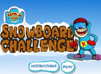 Keymon Ache Snowboard Challenge Game