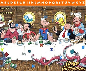 The Popeye Hidden Alphabets