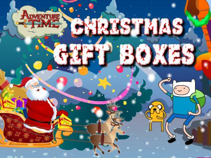 Adventure Time Christmas Gift Boxes