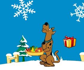Scooby Doo Christmas Gift Dash