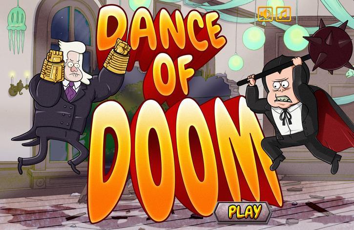 Regular Show Dance of Doom