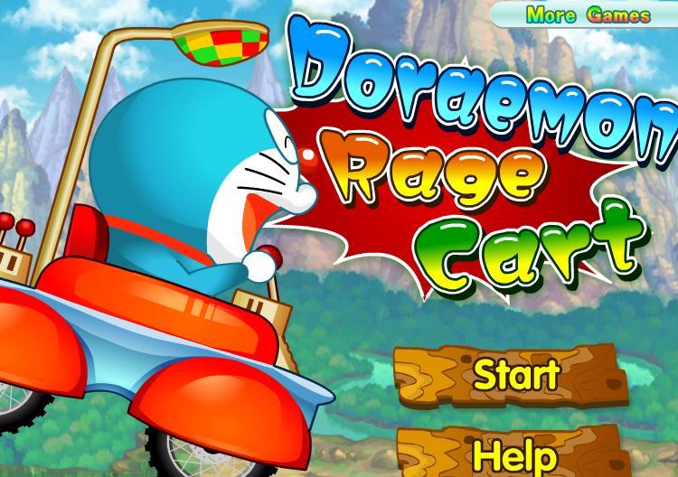 Doraemon Rage Cart