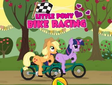 Little Pony Bike Racing