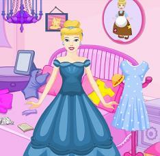 Princess Cinderella Messy Room