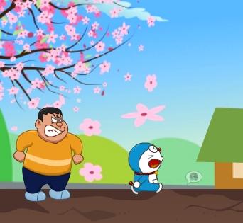 Doraemon Jaian Run Run