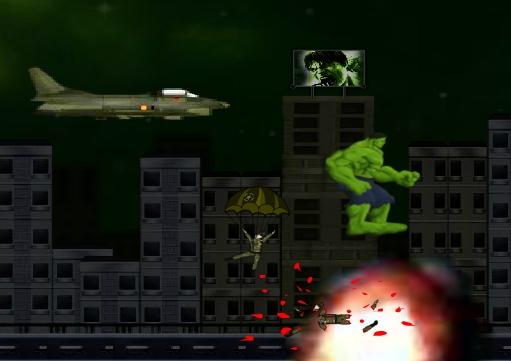 Hulk Madness Game