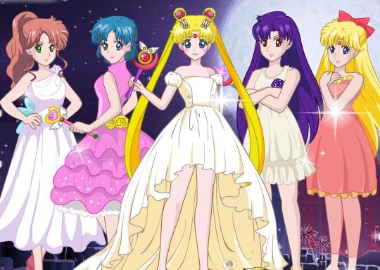 Sailormoon Cyrstal Dress Up